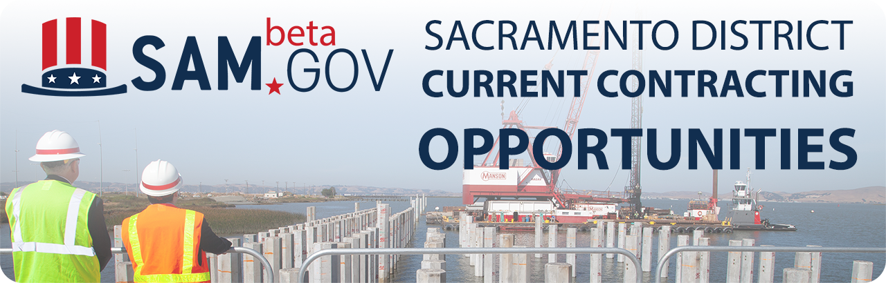 image - Current contracting opportunities in Sacramento District