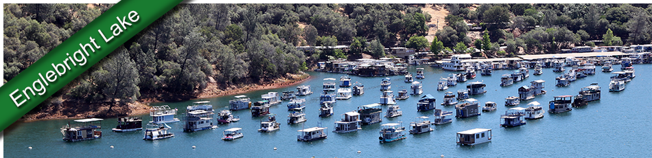 image - houseboats on Englebright Lake