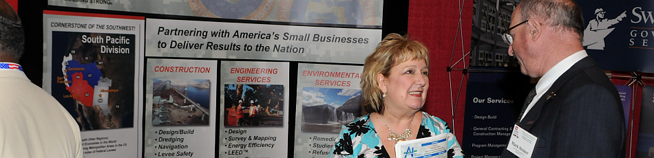image - participants gather at small business conference
