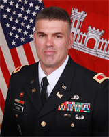 Colonel William Leady, District Commander, U.S. Army Corps of Engineers Sacramento District